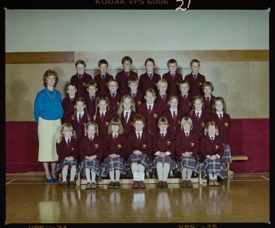 Negative: St Marks Standard 1 Class 1986