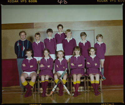 Negative: St Marks Senior Hockey Team 1986