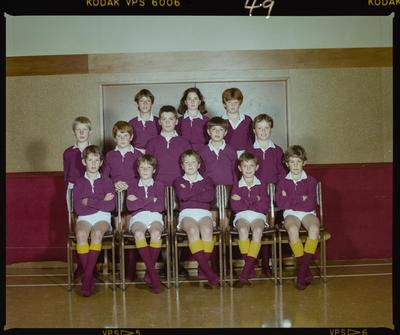Negative: St Marks Sports Team 1986