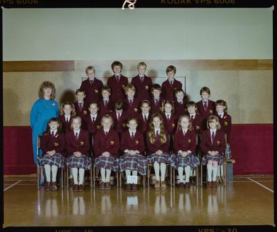 Negative: St Marks Standard 2 Class 1986