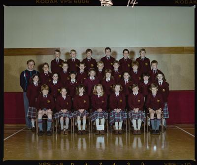 Negative: St Marks Standard 4 Class 1986