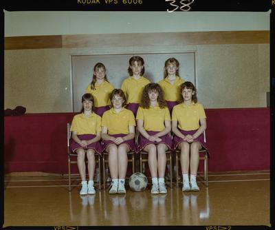 Negative: St Marks Senior Netball Team 1986