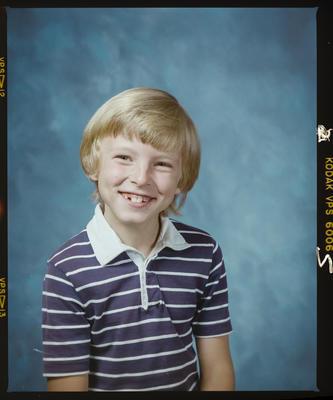 Negative: Wendy Hughes' Son Portrait