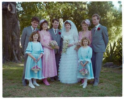 Negative: Jones-Forde Wedding