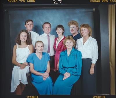 Negative: O'Rourke Family Portrait