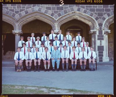 Negative: Arts Centre Choir 1986