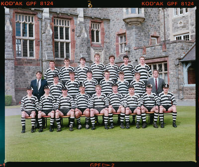 Negative: Christ's College 1st XV Rugby 1990