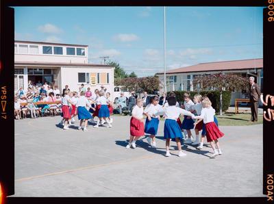 Negative: Isleworth School 25th Jubilee Dancing
