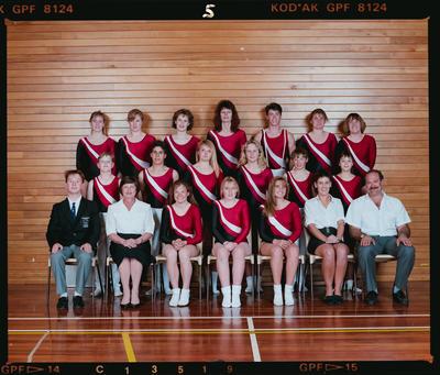 Negative: Canterbury Trampoline Team 1990