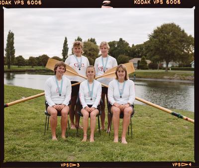 Negative: Canterbury Women's Rowing 4's