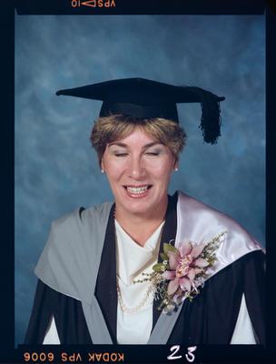 Negative: Unnamed Woman Graduate