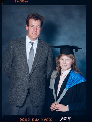 Negative: Unnamed Woman Graduate and Man