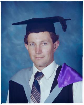 Negative: Mr Brown Graduate