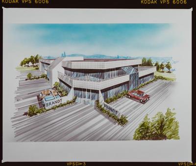 Negative: G.M. Designs Brandt Building Drawing