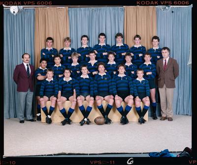 Negative: CBHS U15 Rugby 1987