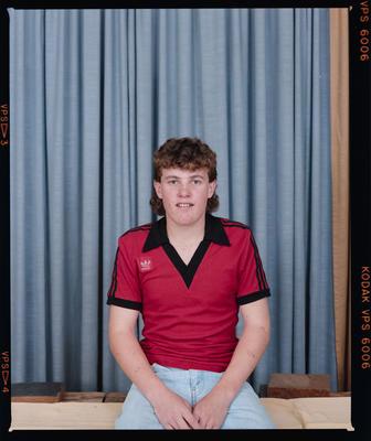 Negative: Unnamed Boy St Bede's Soccer 1987