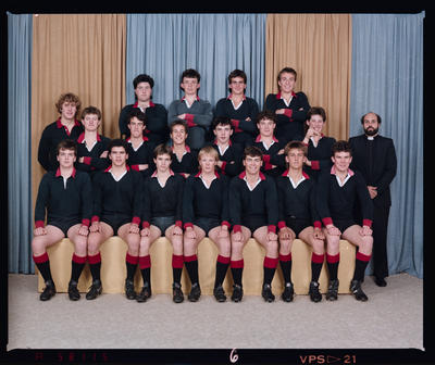 Negative: St Bede's 2nd XV Rugby 1987