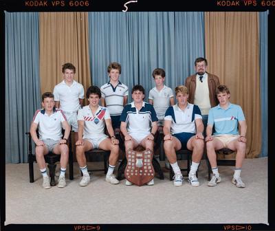 Negative: CBHS Tennis 1987