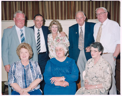 Negative: Unnamed Men and Women Freightways Retirement Function