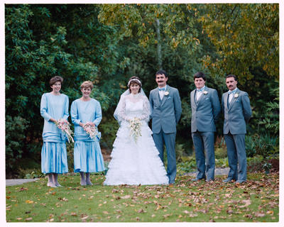Negative: Donnell-Russell Wedding Party