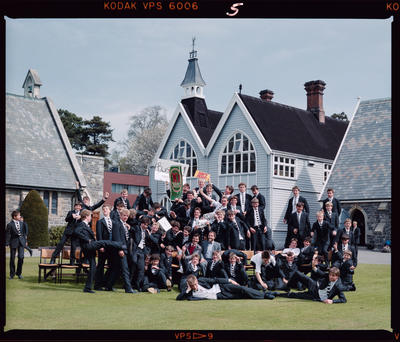 Negative: Christ's College Condell's House 1987