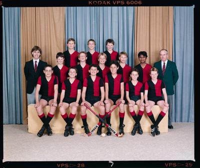 Negative: Canterbury Junior Hockey Team 1987