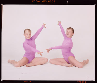 Negative: Canterbury Junior Gymnastics Team Members 1987
