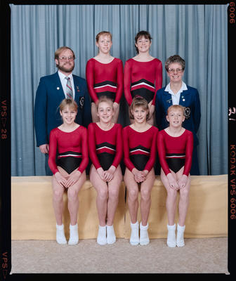 Negative: Canterbury Junior Gymnastics Team 1987