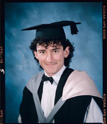 Negative: Mr Buckingham Graduate