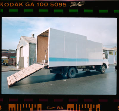 Negative: Truck With Open Ramp