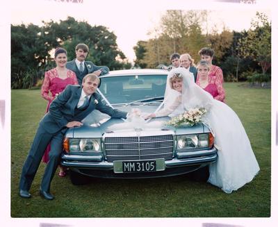 Negative: Rowe-Fantham Wedding Party