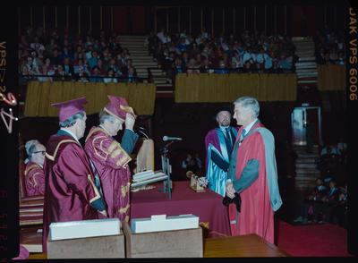 Negative: University Graduation Ceremony