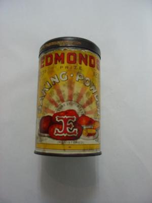 Coins: In Edmonds Baking Powder Tin