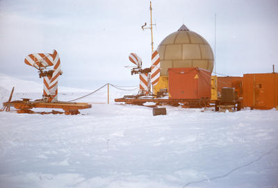 Slide: Radar in Antarctica