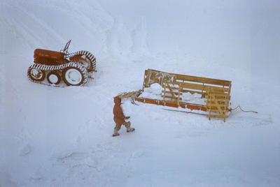 Slide: Tractor and Sledge