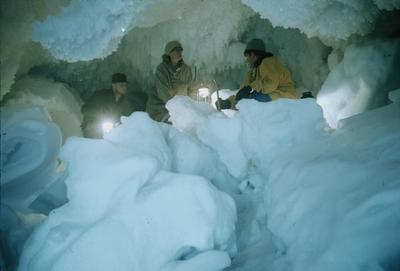 Slide: Ice Cave