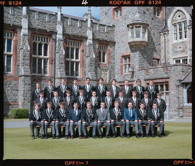 Negative: Christ's College Rugby Tour Team 1990