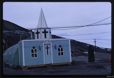 Slide: Chapel of the Snows, McMurdo Station; 1968; 2019.91.10