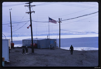 Slide: McMurdo Station, 1968