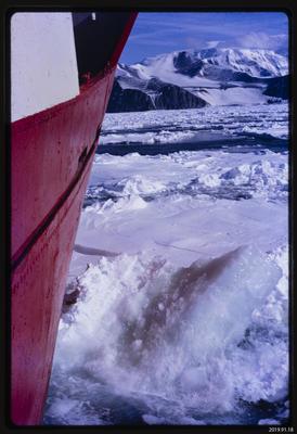 Slide: Magga Dan and Pack-ice, 1968