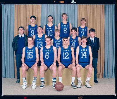 Negative: CBHS Basketball 1990