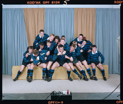 Negative: CBHS 1st XV Rugby 1990