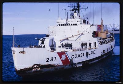 Slide: USCGC Westwind, Ross Sea, 1968