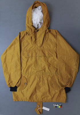 Anorak: Yellow Nylon