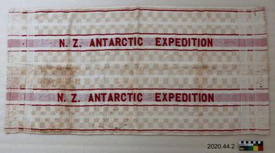 Towel: N.Z. Antarctic Expedition