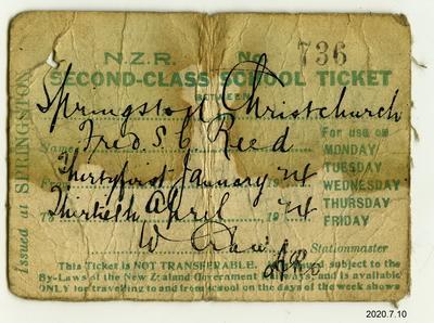 Ticket: NZR