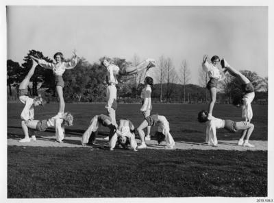 Photograph: Buckett's Gym Pyramid; ; 2019.108.3