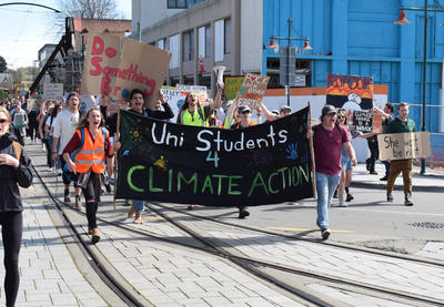 Digital Photograph: Uni Students 4 Climate Action; 27 Sep 2019; ; 2020.11.2