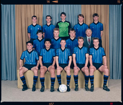 Negative: CBHS 1st XI Soccer 1990