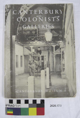 Booklet: Canterbury Colonists Galleries